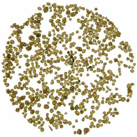 Petites pierres brutes zircon - 2 à 5 mm - 5 grammes