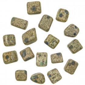 Pierres roulées cubiques jaspe k2 - 1.5 à 3 cm - Lot de 2