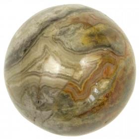 Sphère en agate crazy lace