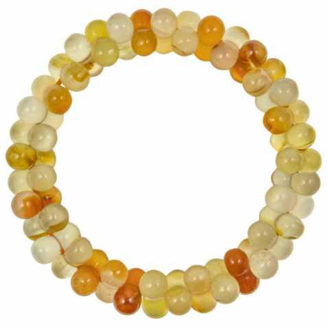 Bracelet petites perles en cornaline