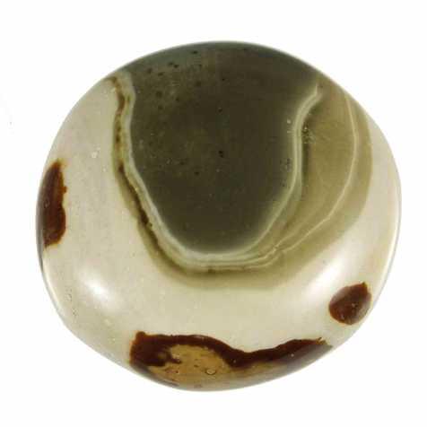 Galet de jaspe polychrome - 273 grammes
