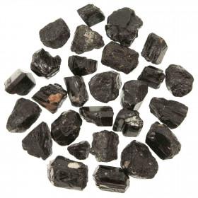 Pierres brutes tourmaline noire - 1.5 à 3 cm - 250 grammes