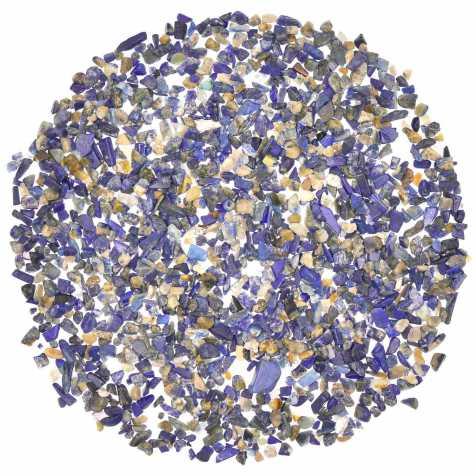 Sable brut de lapis lazuli 2/5 mm - 50 grammes