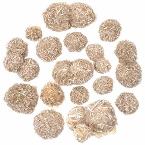 Pierres brutes rose des neiges - 1 à 2 cm - 250 grammes