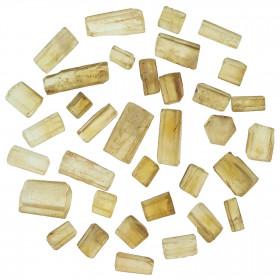 Pierres brutes bâtonnets de citrine - 20 grammes
