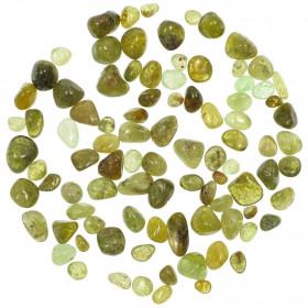 Pierres roulées grenat vert demantoïde - 0.8 à 1.5 cm - 15 grammes