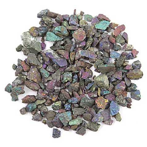 Pierres brutes chalcopyrite - 0.5 à 2 cm - 50 grammes
