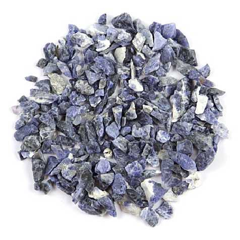 Pierres brutes sodalite - 0.5 à 2 cm - 100 grammes