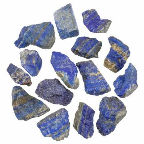 Pierres brutes lapis lazuli - 4 à 6 cm - Lot de 2