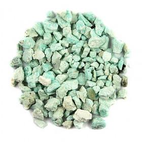 Pierres brutes amazonite - 0.5 à 2 cm - 50 grammes