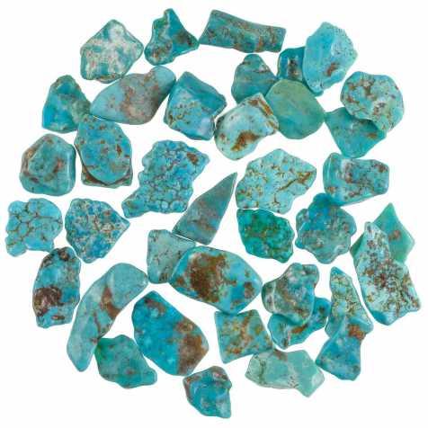 Pierres roulées turquoise sleeping beauty - 1.5 à 2 cm - 10 grammes