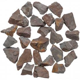 Pierres brutes hématite - 2 à 4 cm - 100 grammes