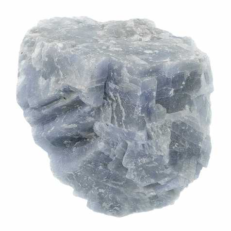 Pierres brutes calcite bleue - 5 à 8 cm - Lot de 3