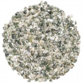 Mini pierres roulées agate arbre - 5 à 10 mm - 100 grammes