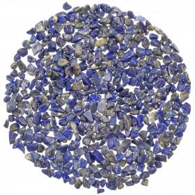 Mini pierres roulées lapis lazuli - 5 à 10 mm - 100 grammes