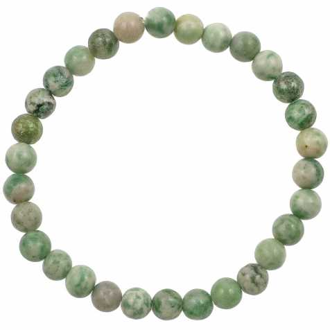 Bracelet en amazonite - perles rondes