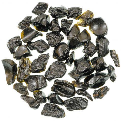 Pierres roulées tectite - 2 à 3 cm - 30 grammes