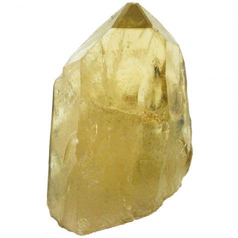Pointe brute de citrine naturelle - 173 grammes