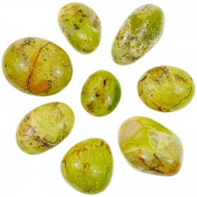 Galet d'opale verte - A l'unité