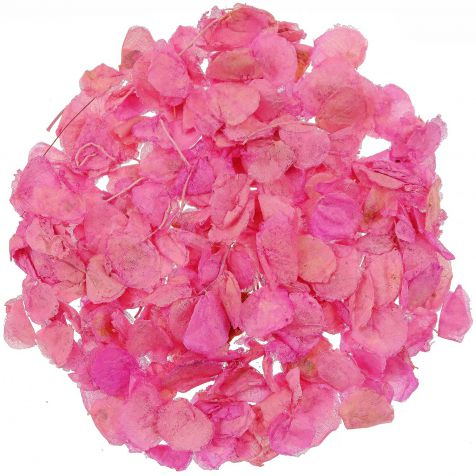 Pétales de roses séchées couleur rose - 25 grammes