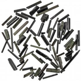 Pierres brutes cristaux de tourmaline noire - 0.5 à 2 cm - 10 grammes