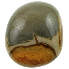 Galet de jaspe polychrome - 190 grammes