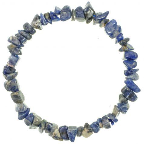 Bracelet en sodalite - perles baroques