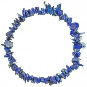 Bracelet en lapis lazuli - perles baroques